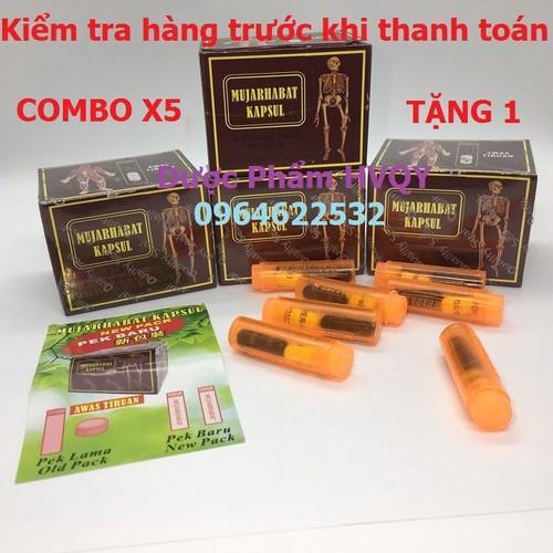 Mua 5 tặng 1: thuốc xương khớp malaysia đỏ-muajarhabat kapsul-tặng 1 hộp [chính hãng-3 ngày duy nhất]