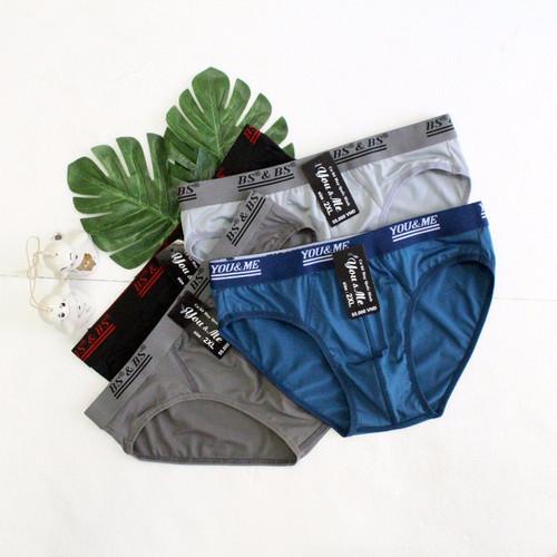 Bộ 3 quần lót thun lạnh dệt kim nam