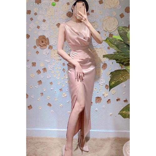 Đầm maxi xẻ