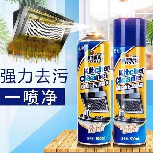 Chai xịt tẩy đa năng kitchen cleaner 500ml nhà bếp siêu sạch - 13193621 , 21293518 , 15_21293518 , 79000 , Chai-xit-tay-da-nang-kitchen-cleaner-500ml-nha-bep-sieu-sach-15_21293518 , sendo.vn , Chai xịt tẩy đa năng kitchen cleaner 500ml nhà bếp siêu sạch