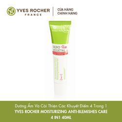 Dưỡng Ẩm Và Cải Thiện Các Khuyết Điểm 4 Trong 1 Yves Rocher Moisturizing Anti Blemishes Care 4in1 40ml