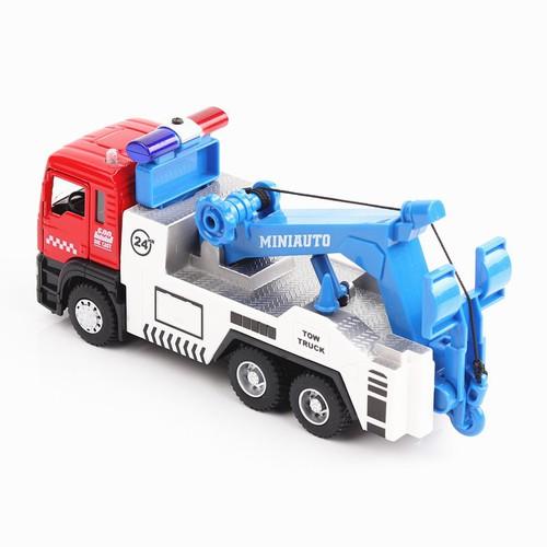 Xe mô hình kim loại, xe cầu cứu hộ