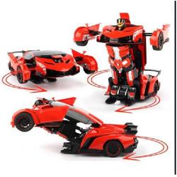 Ô tô biến hình robot Transformer cỡ lớn cực ngầu cho bé