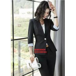 Áo khoác vest, blazer nữ