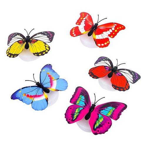 Set 5 đèn led dán tường con bướm siêu xinh - 13191464 , 21290737 , 15_21290737 , 27000 , Set-5-den-led-dan-tuong-con-buom-sieu-xinh-15_21290737 , sendo.vn , Set 5 đèn led dán tường con bướm siêu xinh