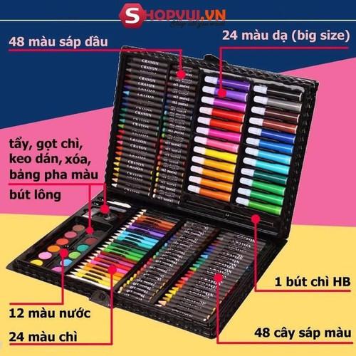 [Siêu sale] hộp bút màu 150 món cho bé yêu