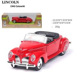 Xe LinColn 1942 Continental Convertible XE MÔ HÌNH KIM LOẠI