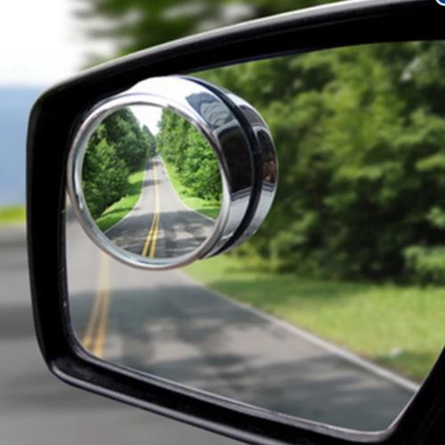 Bộ 2 gương phụ gắn gương chiếu hậu góc mù ôtô và búa thoát hiểm 190-206