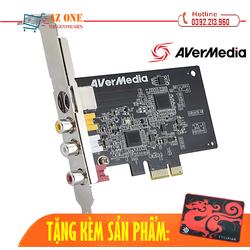 Card Chuyển Đổi PCI Ex sang AV, S-Video AVERMEDIA C725 Tặng Kèm Tấm Pad Chuột Cao Cấp