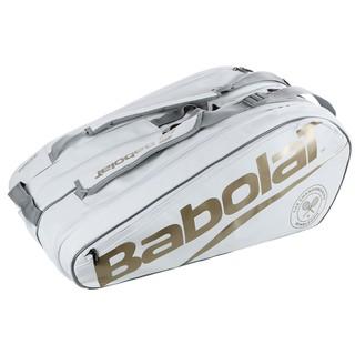 Túi đựng vợt Babolat Pure Wimbledon 12 Pack Tennsi Pag chinh hãng - babolat_trang thumbnail