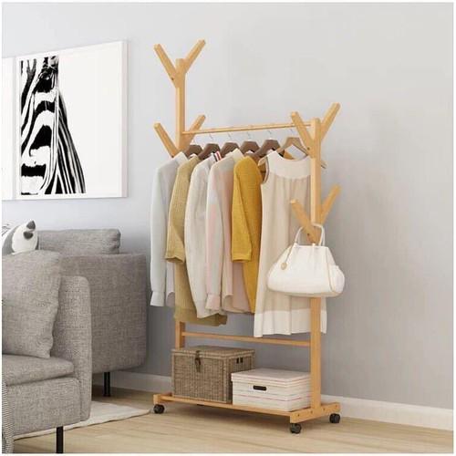 Kệ treo quần áo và để đồ dùng bằng gỗ - 12620676 , 20465374 , 15_20465374 , 299000 , Ke-treo-quan-ao-va-de-do-dung-bang-go-15_20465374 , sendo.vn , Kệ treo quần áo và để đồ dùng bằng gỗ