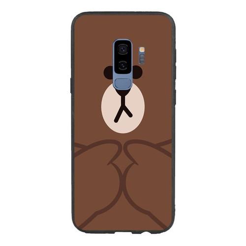 Ốp lưng điện thoại samsung galaxy s9 plus - brown09  - ốp lưng viền tpu dẻo