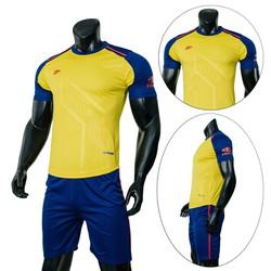 Đồ bộ quần áo thể thao, quần áo bóng đá nam Shaman 2019 Màu Vàng Thời Trang Everest