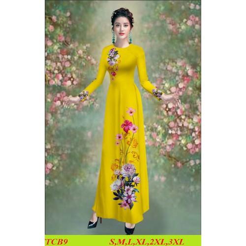 Nguyên bộ áo dài truyền thống lụa tằm ý may sẵn đủ size áo +quần - 12628364 , 20476578 , 15_20476578 , 490000 , Nguyen-bo-ao-dai-truyen-thong-lua-tam-y-may-san-du-size-ao-quan-15_20476578 , sendo.vn , Nguyên bộ áo dài truyền thống lụa tằm ý may sẵn đủ size áo +quần