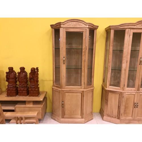 Tủ trưng bày lục giác gỗ sồi 0,9m - 12623410 , 20469760 , 15_20469760 , 6900000 , Tu-trung-bay-luc-giac-go-soi-09m-15_20469760 , sendo.vn , Tủ trưng bày lục giác gỗ sồi 0,9m