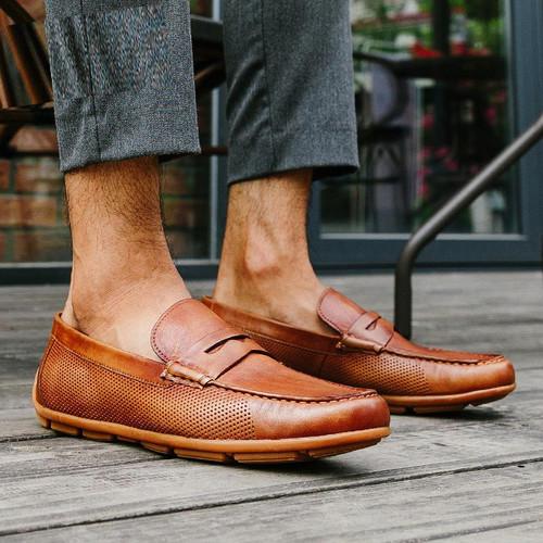 Giày lười nam doanh nhân bigbang 91188