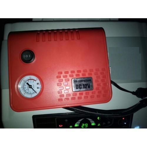 Máy bơm xe hơi, xe máy, sử dụng điện 12v trên xe ôtô model: adb - 717