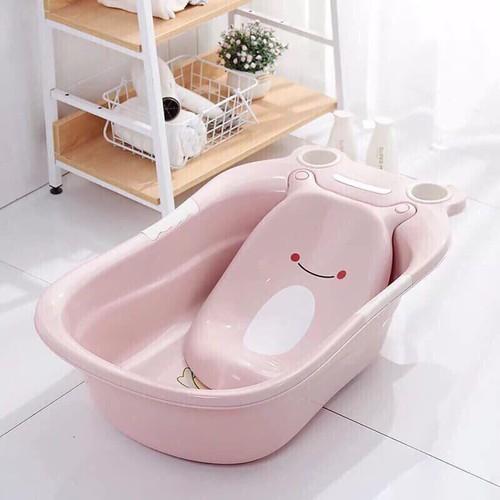 Chậu tắm hình ếch cho bé