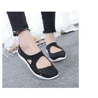 Giày nhựa nữ đi mưa - Giày đi mưa chống trượt nữ - GT6 thumbnail