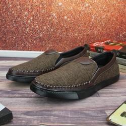 Giày lười nam đẹp TL214 from chuẩn bán shop Thành Long chuyên giày mọi nam