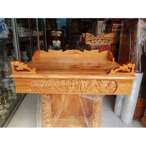 Bàn thờ treo tường gỗ xoan ngang 68 cm - 12613853 , 20456406 , 15_20456406 , 520000 , Ban-tho-treo-tuong-go-xoan-ngang-68-cm-15_20456406 , sendo.vn , Bàn thờ treo tường gỗ xoan ngang 68 cm