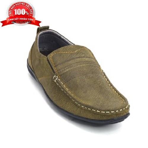 Giày công sở nam giày tây nam da lộn_da bò xịn