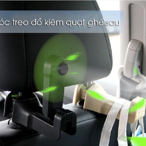 Móc treo đồ ô tô kiêm quạt ghế sau ô tô - 12616083 , 20459444 , 15_20459444 , 145000 , Moc-treo-do-o-to-kiem-quat-ghe-sau-o-to-15_20459444 , sendo.vn , Móc treo đồ ô tô kiêm quạt ghế sau ô tô