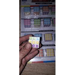 Set 5 cục rubik hình ngôi sao 3x3 mini bằng nhựa