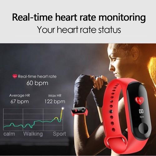 Vòng đeo tay thông minh m3 - smart wristband