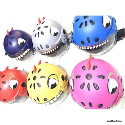 Mũ bảo hiểm khủng long cho bé - 12623442 , 20469792 , 15_20469792 , 90000 , Mu-bao-hiem-khung-long-cho-be-15_20469792 , sendo.vn , Mũ bảo hiểm khủng long cho bé