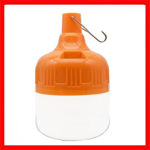 Bóng đèn tích điện 100w - Bóng đèn sạc tích điện có móc treo không cần dây điện - Đèn sạc không dây