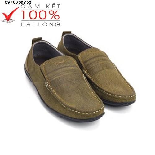 Giày nam giày tây nam da bò_mặc đồ jean
