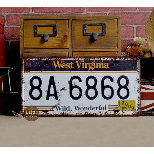 Tranh thiếc vintage 038