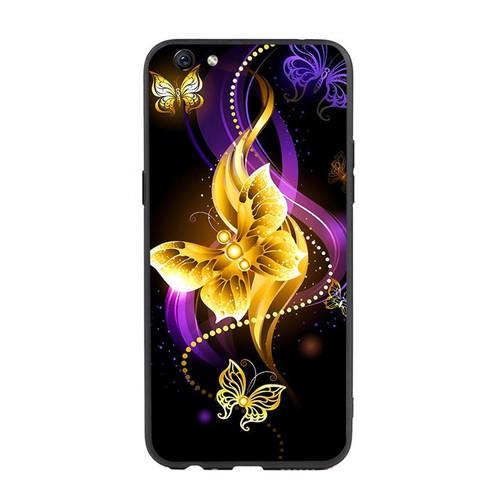 Ốp lưng điện thoại oppo f3 plus - butterfly02  - ốp lưng viền tpu dẻo