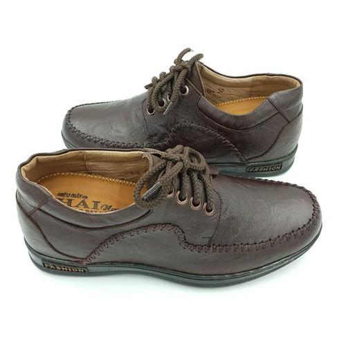 Giày mọi tăng chiều cao hải nancy da bò cao cấp c1644n