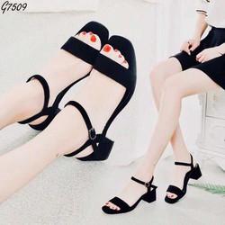 Giày sandal nữ đế bệt quai ngang, giày sandal, giày nữ đế thấp, giày nữ