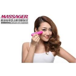 Máy massage mắt mini rung cầm tay - máy massage - Video Thật - Máy mát xa rung không dây cầm tay mạnh