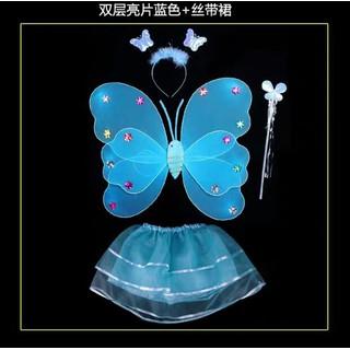 SỈ bộ cánh tiên có đèn có váy cho bé gái - BCT888 thumbnail