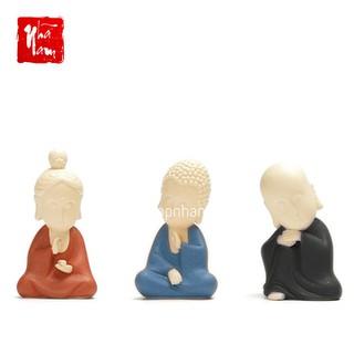 Tượng phật thiền định gốm sứ cao cấp, tượng phật trang trí - TTPK2_TuongPhat thumbnail