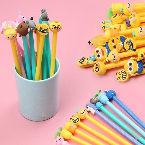 Sét 20 bút bi nước -  hình thú siêu ngộ nghĩnh