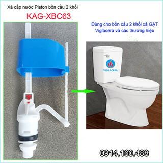 Cụm phao cấp nước bồn cầu, cụm cấp nước Piton cho xí bệt, phao xả bồn cầu KAG-XBC63 - KAG-XBC63 thumbnail