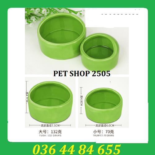 Bát sứ cho hamster size to -659 - 13209647 , 21315966 , 15_21315966 , 75000 , Bat-su-cho-hamster-size-to-659-15_21315966 , sendo.vn , Bát sứ cho hamster size to -659