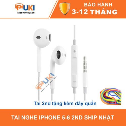 Tai nghe iphone 5 6 bóc máy hàng ship từ nhật bản