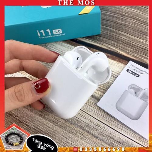 Tai nghe bluetooth nhét tai cho smart phone i11 v5 0 nút cảm ứng giống airpods – kết nối không dây nhanh – thời thượng