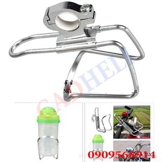 Gá treo chai nước lắp ghi đông dùng xe mô tô xe đạp - 4k-ga thumbnail