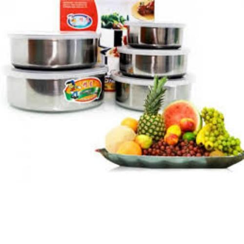 Bộ 5 hộp đựng thực phẩm inox có nắp đậy- hộp đựng thức ăn - 12905683 , 21325976 , 15_21325976 , 99000 , Bo-5-hop-dung-thuc-pham-inox-co-nap-day-hop-dung-thuc-an-15_21325976 , sendo.vn , Bộ 5 hộp đựng thực phẩm inox có nắp đậy- hộp đựng thức ăn