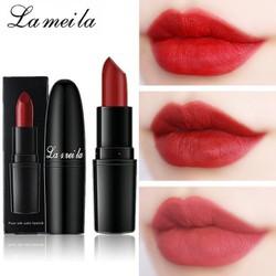 Son lì La Mei La siêu nhẹ môi màu sắc quyến rũ son trang điểm son thỏi son môi KR-SM69