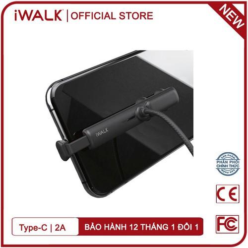 Cáp sạc nhanh chuyên game iwalk csc003 1,2m cổng type-c 2a