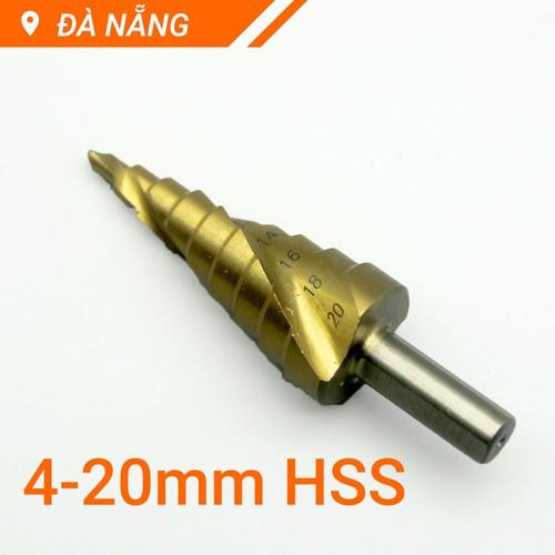 Mũi khoan tháp bước xoắn 4-20mm ct - 13203845 , 21308276 , 15_21308276 , 99000 , Mui-khoan-thap-buoc-xoan-4-20mm-ct-15_21308276 , sendo.vn , Mũi khoan tháp bước xoắn 4-20mm ct