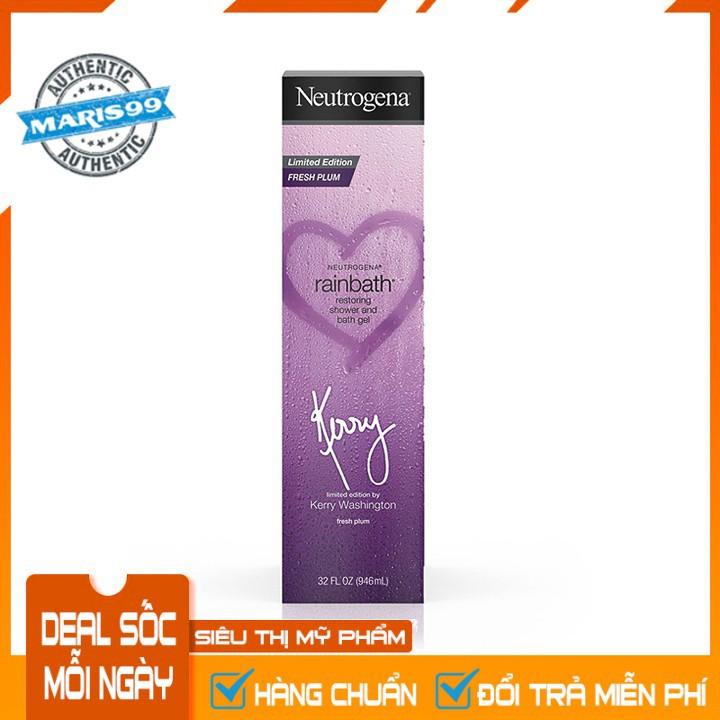 Sữa Tắm Neutrogena Rainbath Fresh Plum Shower and Bath Gel – Kerry Washington Limited Edition (946ml) - 100% Authentic